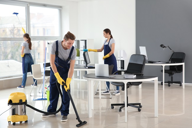 commercial cleaning services in Columbus, OH